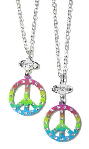Peace Best Friends Necklace Set picture