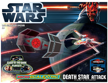 1:64 Scale Micro Scalextric Death Star Attack STAR WARS™ Set picture