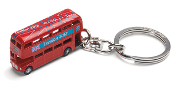 Routemaster London 2012 Souvenir Keyring (GS62201) picture