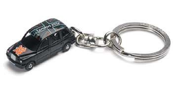 Taxi London 2012 Souvenir Keyring (GS62202) picture