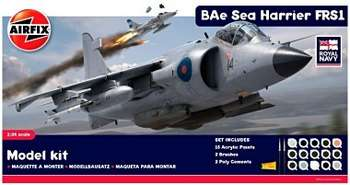 1:24 Sea Harrier FRS1 Royal Navy Gift Set (A50010) picture