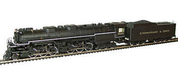 C&O Allegheny 2-6-6-6 Locomotive, HO Scale picture