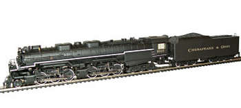 C&O Allegheny 2-6-6-6 Locomotive with DCC/Sound, HO Scale picture