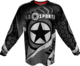 GI CHALLENG'R PLAYING JERSEY-GRAY/BLK-XL