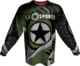 GI CHALLENG'R PLAYING JERSEY-GREEN/BLK-LARGE