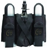 2 + 1 Sport Harness Black