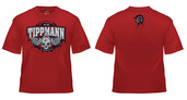 Tippmann Winged T-Shirt-Red-Medium