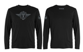 Tippmann Winged Long Sleeve T-Black-Medium