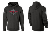 Tippmann Winged Hoodie-Charcoal-Large