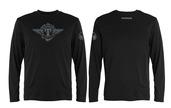 Tippmann Winged Long Sleeve T-Black-Large
