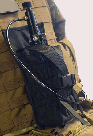 Molle Tank Holder - Black picture