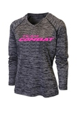 WOMEN'S LONG SLEEVE V- NECK