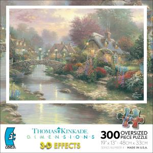 Thomas Kinkade Dimensions - Lamplight Bridge picture