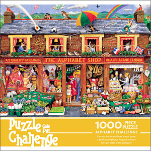 Gale Pitt - Puzzle Challenge - Alphabet Shop Long picture