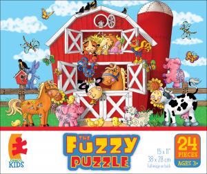 The Fuzzy Puzzle - Barnyard picture