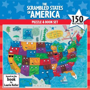 The Scrambled States of America™ Puzzle and Book Set picture
