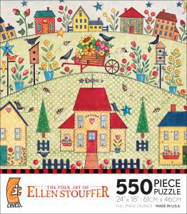 The Folk Art of Ellen Stouffer - Houses of My Friends picture