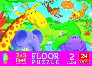 Animals Floor Puzzle - Cute Creatures picture