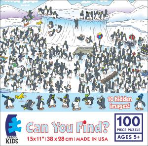 Can You Find? - Penguins picture