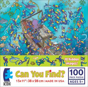 Can You Find? - Sunken Treasure picture