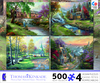 Thomas Kinkade 4 in 1 Multi-Pack