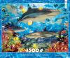 1500 Piece - Reef Sharks
