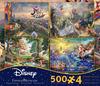 4 in 1 Multi-Pack - Thomas Kinkade - Disney Dreams