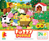 The Fuzzy Puzzle - On the Farm
