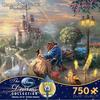 Thomas Kinkade Disney - Beauty and the Beast Falling in Love