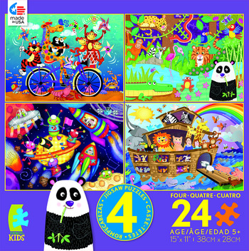 Kids 4 in 1 - Animals picture