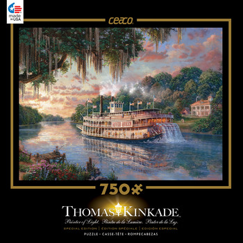 Thomas Kinkade 750 Piece Special Edition - The River Queen picture