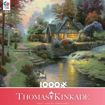 Thomas Kinkade 1000 Piece - Stillwater Cottage picture