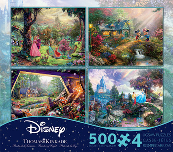 4 in 1 Multi-Pack - Thomas Kinkade - Disney Dreams picture
