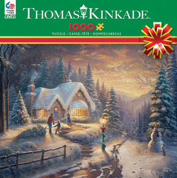 Thomas Kinkade - Country Christmas Homecoming picture