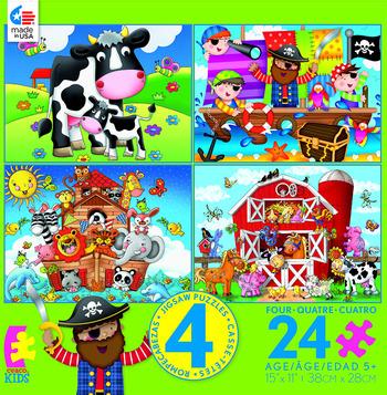 Kids 4 in 1 - Farm picture
