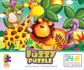 The Fuzzy Puzzle - Jungle picture