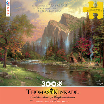 Thomas Kinkade Inspirations - The Mountains Declare His Glory picture