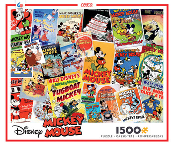 Disney 1500 Piece Puzzle- Mickey Mouse picture