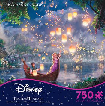 Thomas Kinkade Disney - Tangled picture