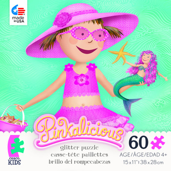 Pinkalicious Glitter Puzzle - Aqualicious 1 picture
