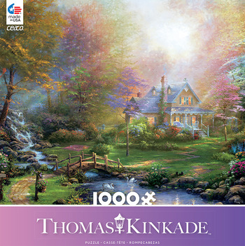 Thomas Kinkade 1000 Piece - A Mother's Perfect Day picture