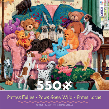 Paws Gone Wild - Grandma's Armchair picture