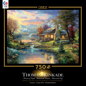 Thomas Kinkade 750 Piece Special Edition - Nature's Paradise picture