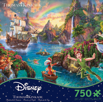 Thomas Kinkade Disney Dreams - Peter Pan picture