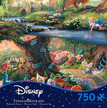 Thomas Kinkade Disney - Alice in Wonderland picture