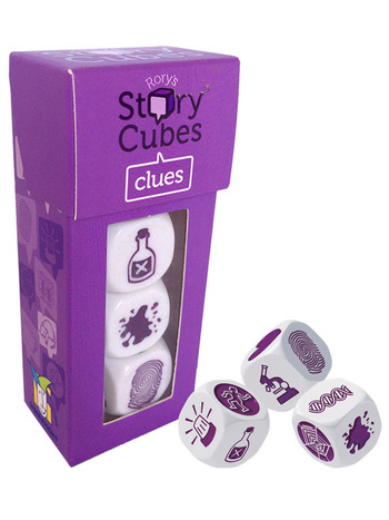 Rory's Story Cubes Mix - Clues picture