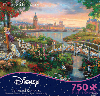 Thomas Kinkade Disney Dreams - 101 Dalmations picture