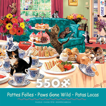 Paws Gone Wild - Teatime Terrors picture