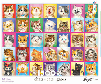 1500 Piece - Cats, Cats, Cats picture