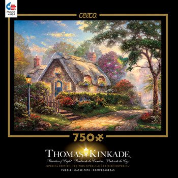 Thomas Kinkade 750 Piece Special Edition - Lovelight Cottage picture